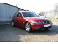 BMW COMPACT SE TD ONLY 98000 MILES MOT JULY 2017