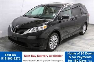 2011 Toyota Sienna LE AWD w/ DVD! LEATHER! ALLOYS! HEATED SEATS!