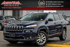 2016 Jeep Cherokee Limited Leather|Nav|R.Start|Backup Cam|Blueto