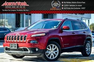 2016 Jeep Cherokee Limited SafetyTec Pkg|Nav|Leather|R.Start|HTD