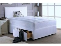 BRAND NEW divan bed with MEMORY FOAM mattress FREE headboard&delivery