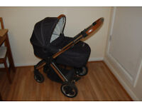 Oyster 3 in 1 travel system carrycot pram buggy pushchair stroller car seat