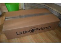 BNIB Little Friends Double Tier Pet Cage, 100cm (Rabbit/Guinnea Pigs/Rats/Small Pets)
