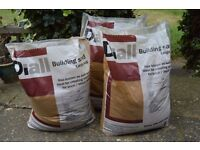 Diall Building Sand Large Bags x3 Unopened