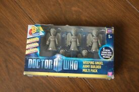 doctor who ' vintage video box set ' & doctor who micro figures
