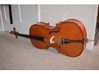 Full size romanian cello, great condition