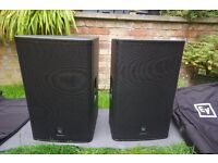 EV Electrovoice ELX115 LIVEX PA passive speakers monitors immaculate