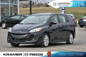 2016 Mazda Mazda5 GT w/Leather & Moonroof