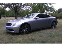 6-spd MANUAL 03 Nissan Skyline 350GT (Infiniti G35) JDM RHD import 4 seat V6 rear drive Coupe 350 GT