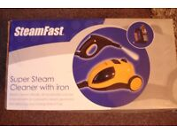 steamfast super jet steam cleaner with jet steam iron with loads of accessories