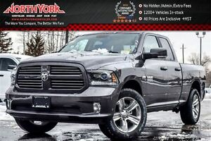 2017 Ram 1500 NEW Car Sport|4x4|Nav|Quad w/6.3Box|Backup cam|Lea
