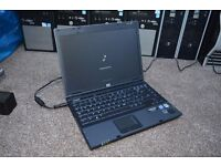 HP 6910b Laptop - Windows 7 Pro, Intel Core 2 Duo 2.00GHz, 2GB, 80GB, DVD-RW