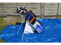 Complete Titleist golfing set