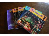'Klasse' German text books, Years 1 - 3