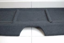 Peugeot 206 Parcel shelf. Excellent condition Grey. £15
