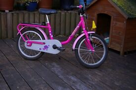Girls PUKY bicycle, for age 3+. Very good condition.
