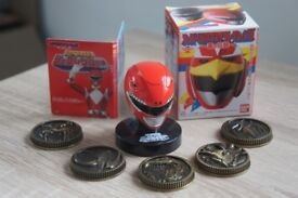 Zyuranger MMPR Sentai Mask Collection Box