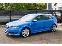 2008 AUDI S3 QUATTRO TFSI SPRINT BLUE FASH LOW RATE FINANCE AVAILABLE NOT M3 R32 GOLF GTI