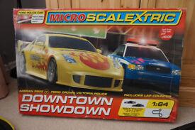 """Micro Scalextric """"DOWNTOWN SHOWDOWN"""""""