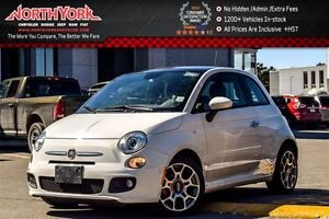 2014 Fiat 500 Sport Sunroof|Bluetooth|Keyless_Entry|Clean CarPro