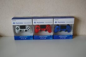 Brand New & Sealed PS4 Controllers