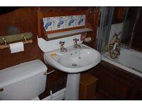 Vintage bathroom pieces