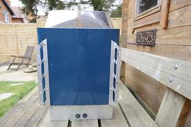 Sauna heater, Harvia electric 8Kw unused with sauna stones