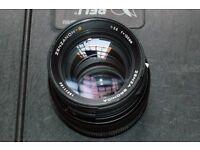 150 mm Bronica lens.