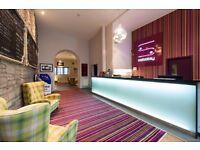 Night Porter - Safestay Edinburgh Hostel