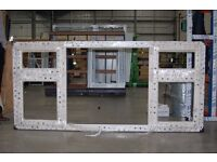 Brand new Trent Valley Windows uPVC unglazed window Frames - assorted styles/sizes - from £25