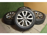 "Genuine Range Rover 20"" Alloy wheels 5x120 Sport Land Rover VW T5 Alloys Grey"
