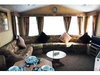 Butlins Luxury 8 berth static caravan for hire, DVD TVs all rooms,xbox 360, wash mach, dryer etc