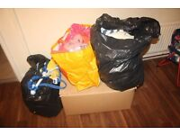 LARGE OF CAR BOOT CLOTHES BUNDLE****Over 200 Items