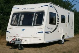 Bailey Pageant Champagne 2010 4 berth caravan