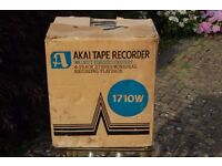 NEW AKAI 1960 ( 1710W ) TAPE RECORDER