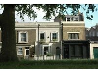 Beautiful 2 bedroom house in Hackney overlooking a park. Private let.