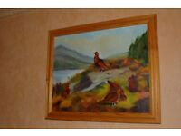 Framed Painting on canvas