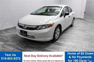 2012 Honda Civic DX SEDAN! 5-SPEED! POWER PACKAGE!