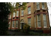 A clean double, fully furnished room is available from the 1st April on Croxteth Road L8