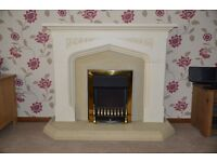 Fire Surround, Hearth and Electric Fire