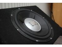 JBL 12 inch subwoofer and box