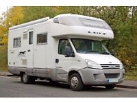 Laika Kreos 3005 4 berth luxury motorhome on 6 speed Iveco 3.0 RWD
