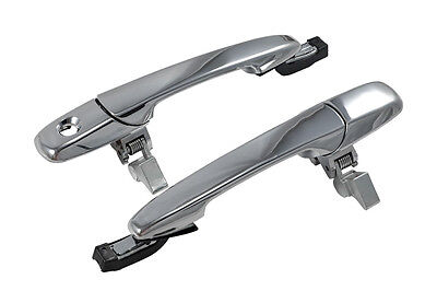 2005-2014 Ford Mustang Saleen Chrome Alien Outside Complete Door Handles