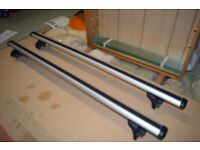 Thule roof bars as new for Vauxhall Meriva