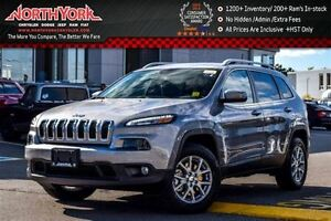 2017 Jeep Cherokee North 4x4|Cold Wthr Pkg.|Backup Cam|Bluetooth