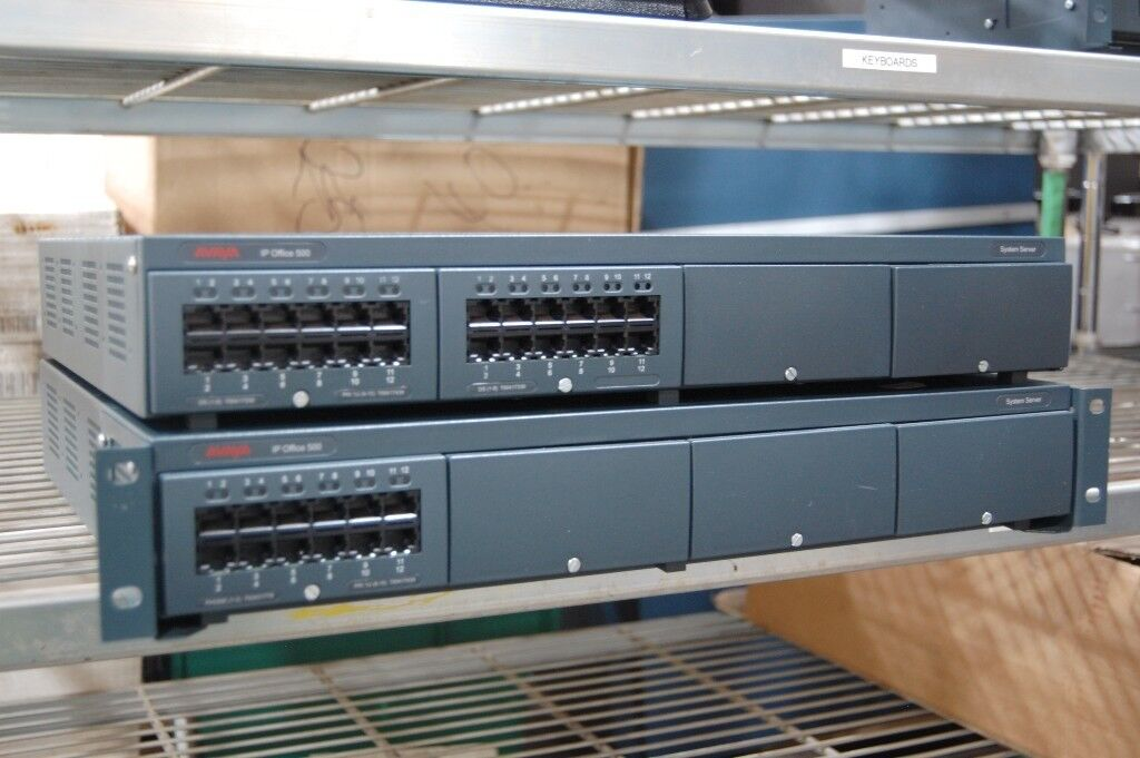 Avaya IP Office 500 System Server x 2