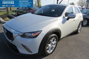 2016 Mazda CX-3 AWD GS TRACTION INTEGRALE (4X4)