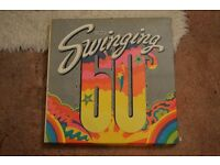 10 LP boxed set of the Swinging 60s
