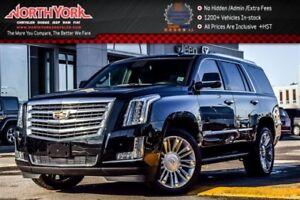 2017 Cadillac Escalade Platinum 4x4 RearDVD Nav Sunroof Heat&Vtd