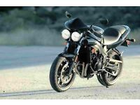 Triumph speed four, Black, mint condition, 10k miles, MOT Mar 18, rides like a dream, £2150
